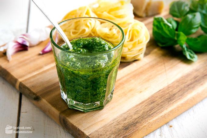 Basilikum-Pesto selbstgemacht | Madame Cuisine Rezept