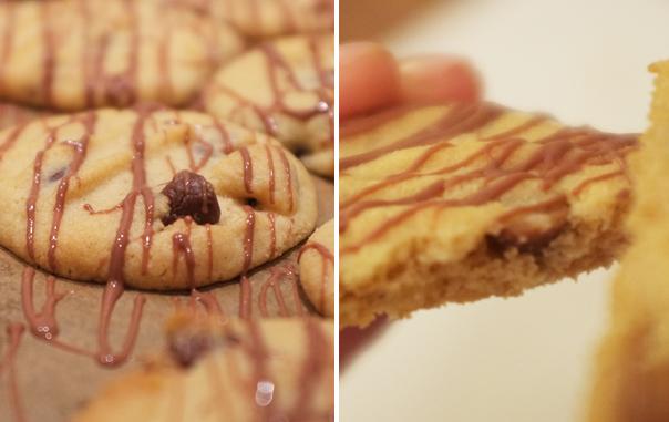 Erdnuß-Schoko-Cookies | Madame Cuisine Rezept