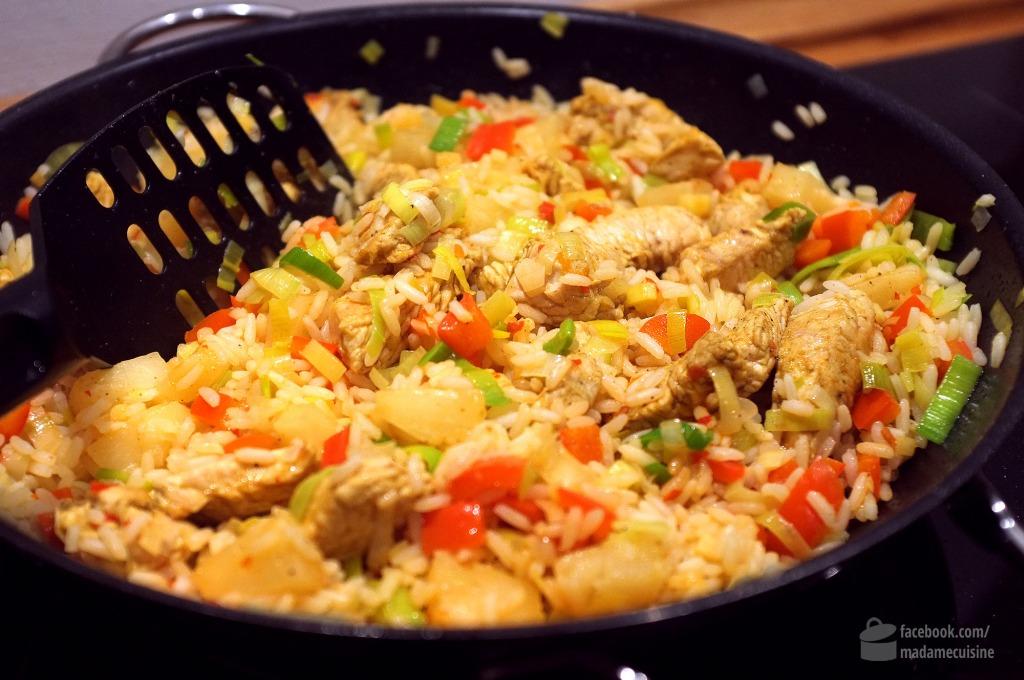 Karibische Reispfanne | Madame Cuisine Rezept