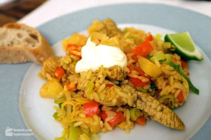 Karibische Reispfanne | Madame Cuisine
