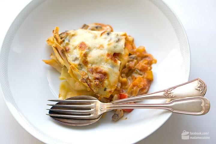 Gemüse-Lasagne | Madame Cuisine