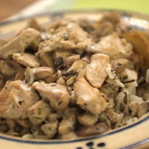 Geschnetzeltes mit Basmati-Wildreis | Madame Cuisine