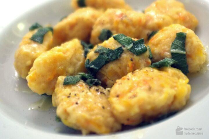 Kürbisnocken (Gnocchi) | Madame Cuisine