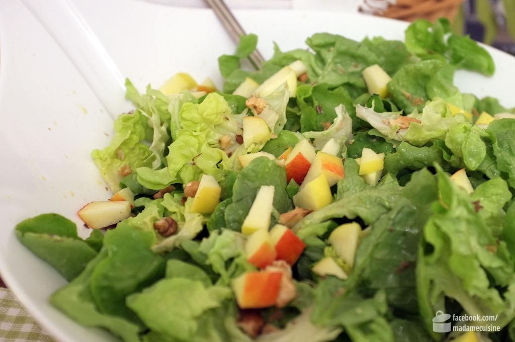 Salat mit Ziegenkäse-Crostini | Madame Cuisine Rezept