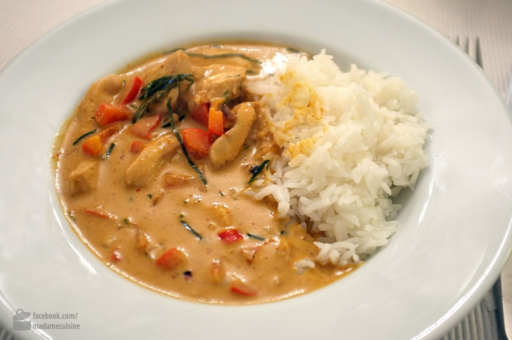Thai-Erdnuss-Curry (Kaeng Phanaeng) | Madame Cuisine