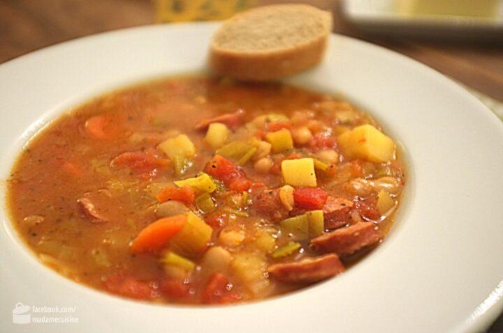 Immer-wieder-Aufwärm-Suppe | Madame Cuisine