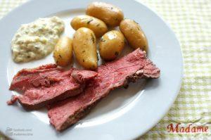 Roastbeef mit Rosmarinkartoffeln | Madame Cuisine