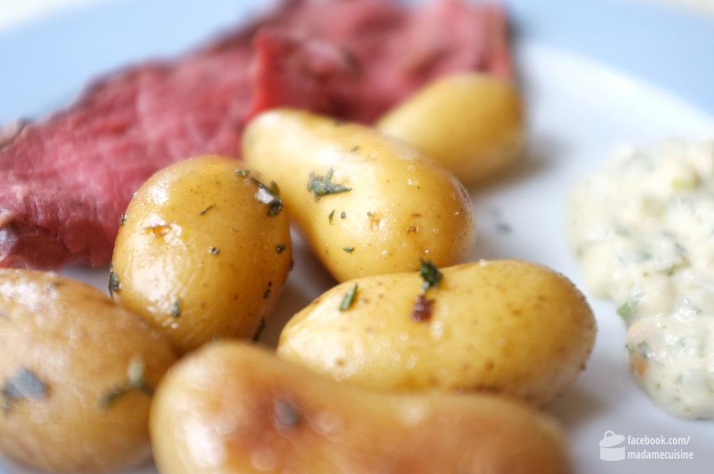 Roastbeef mit Rosmarinkartoffeln | Madame Cuisine Rezept