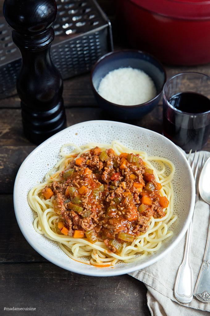 Spaghetti Bolognese – ein Klassiker aus Italien | Madame Cuisine Rezept