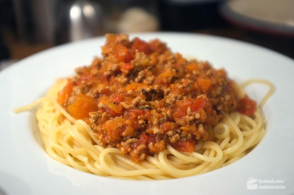 Spaghetti Bolognese | Madame Cuisine