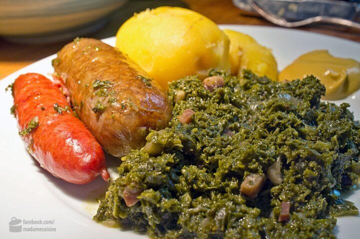 Grünkohl mit Pinkel | Madame Cuisine