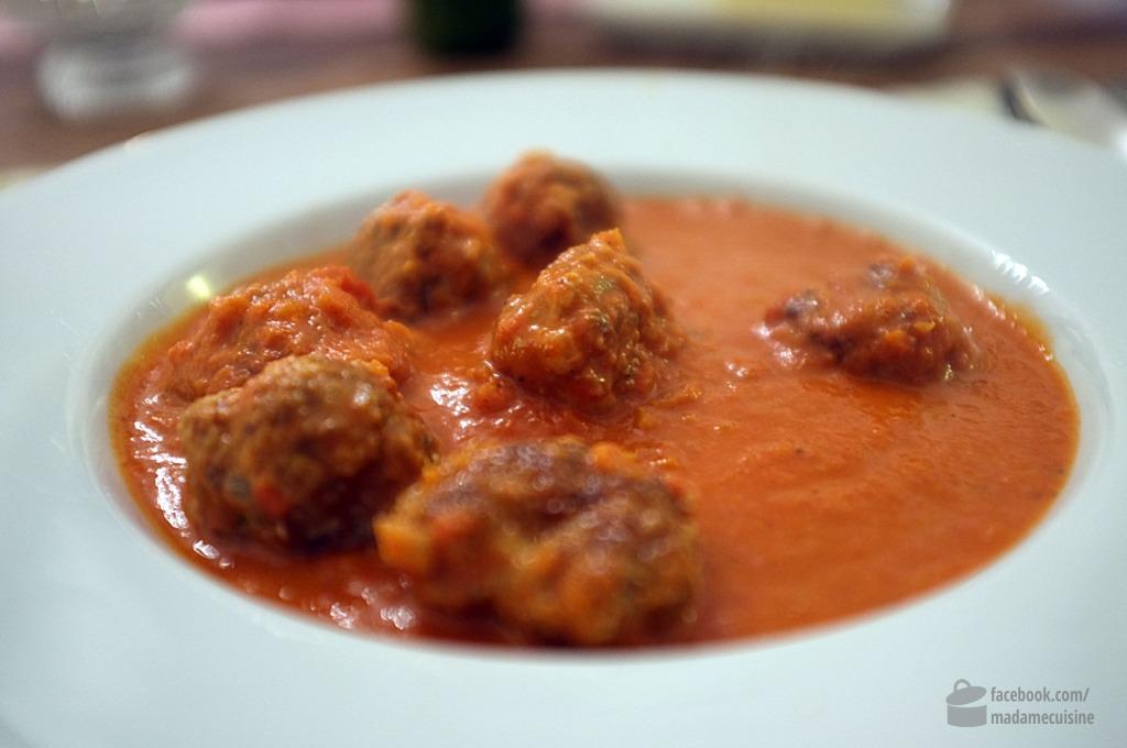 Tomatensuppe mit Hackbällchen | Madame Cuisine Rezept