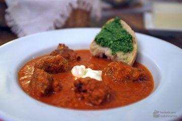 Tomatensuppe mit Hackbällchen | Madame Cuisine