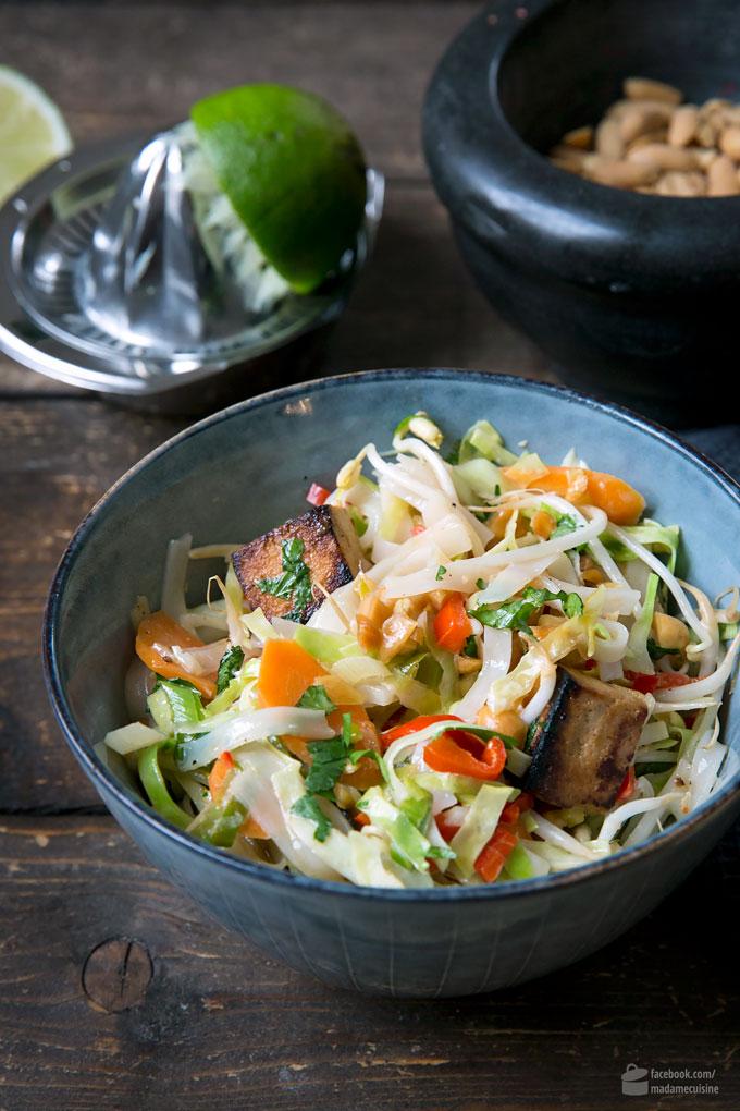 Vietnam-Nudeln mit Tofu und Kohl | Madame Cuisine Rezept