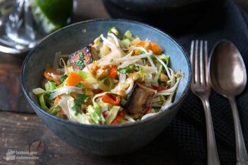 Vietnam-Nudeln mit Tofu