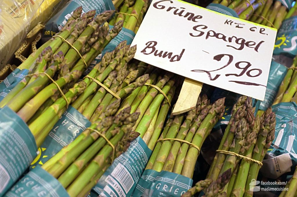 Bärlauch-Risotto mit grünem Spargel | Madame Cuisine Rezept