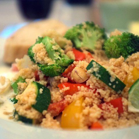 Couscous-Pfanne mit Cashewnüssen | Madame Cuisine