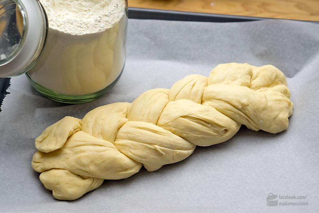 Hefezopf (oder Osterkranz)   Madame Cuisine Rezept