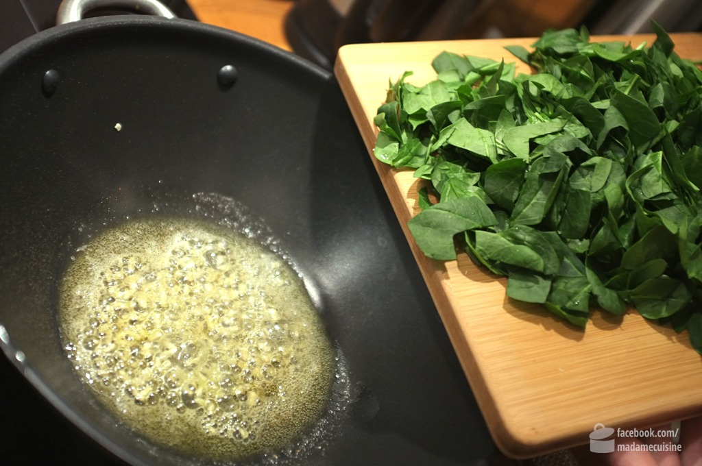 Spaghetti mit Spinat & Mascarpone | Madame Cuisine Rezept
