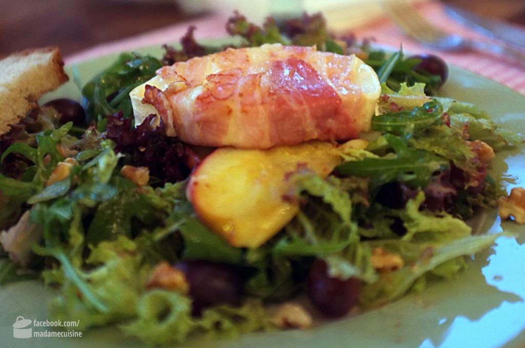 Salat mit Ziegenkäse und Apfel | Madame Cuisine
