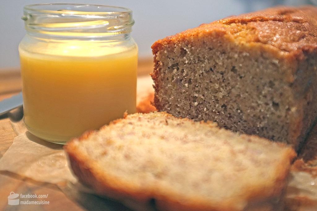 Bananenbrot mit Lemon-Curd | Madame Cuisine Rezept
