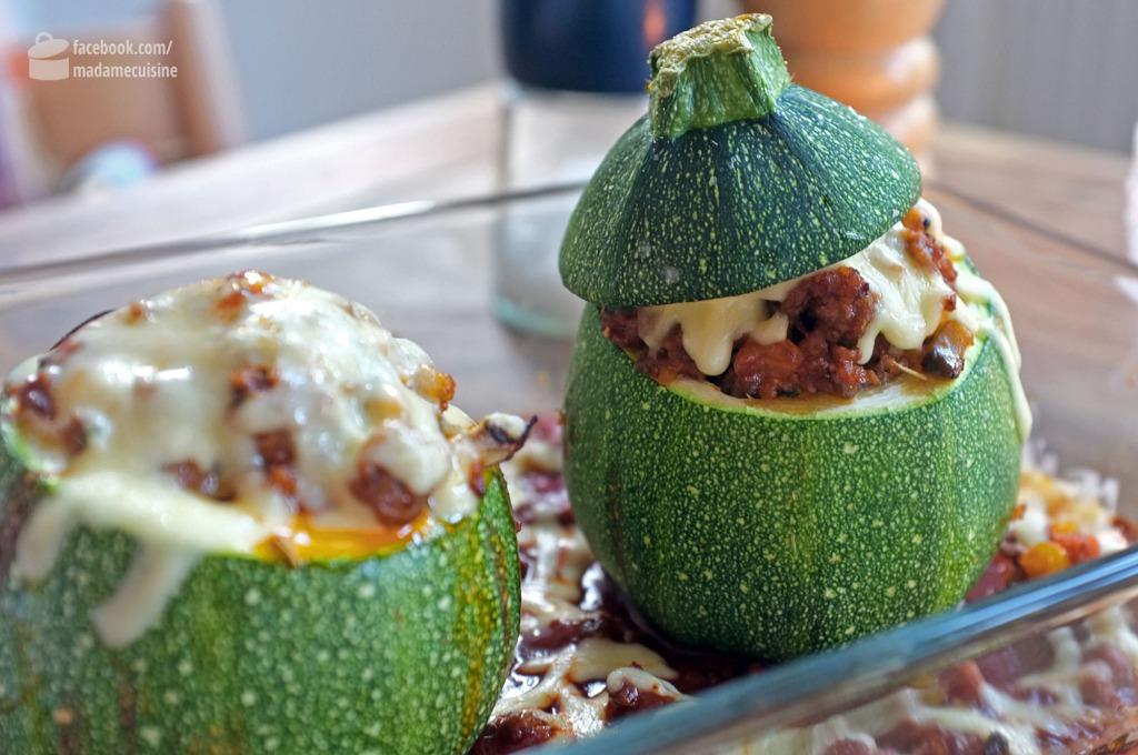 Gefüllte Zucchini | Madame Cuisine Rezept