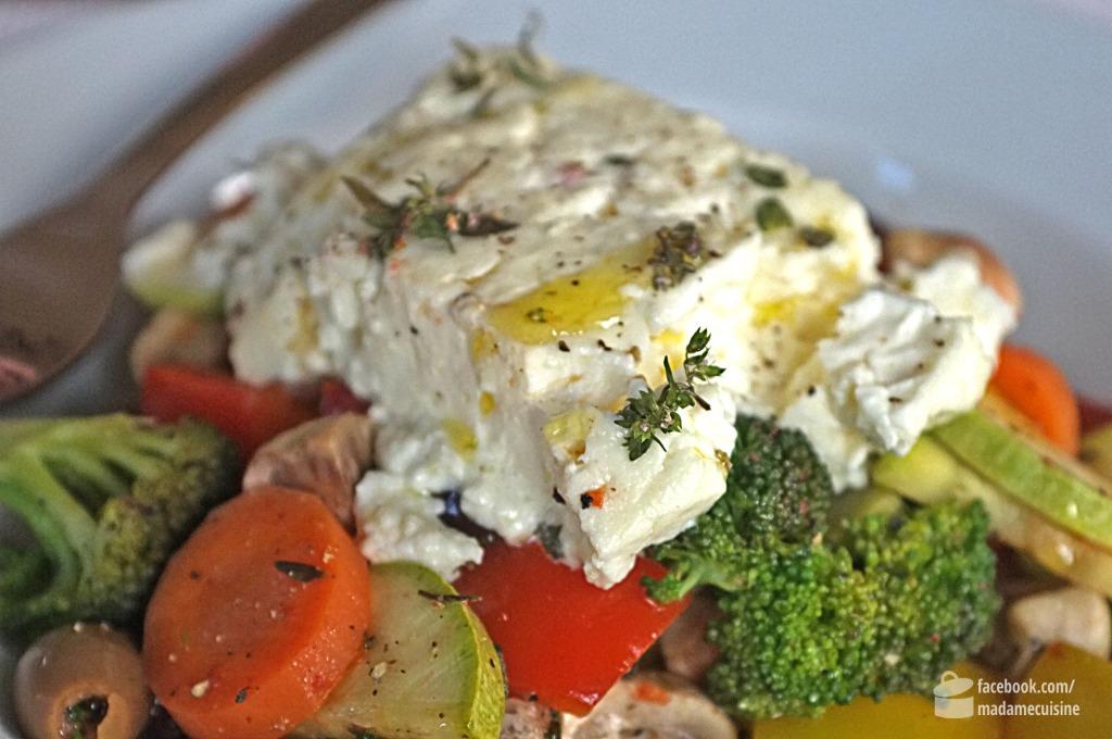 Lauwarmer Gemüsesalat mit Feta | Madame Cuisine Rezept