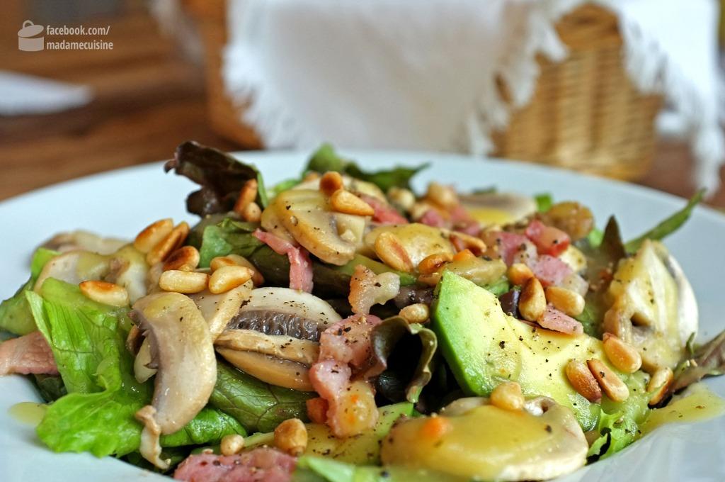 Salat mit lauwarmer Kartoffelvinaigrette | Madame Cuisine Rezept