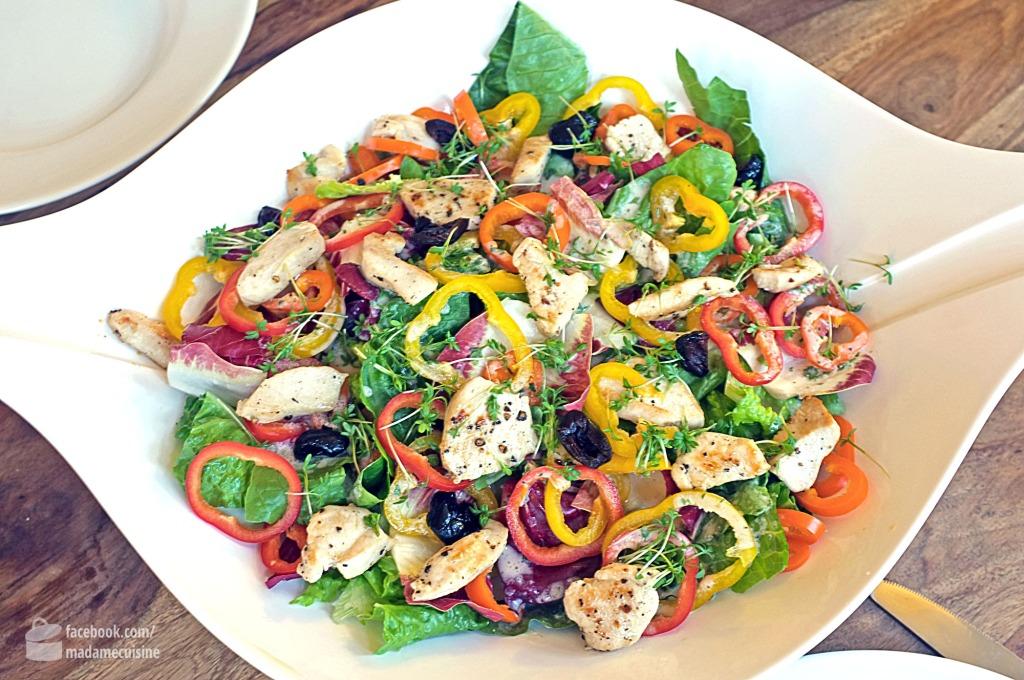 Bunte Salatschüssel | Madame Cuisine Rezept