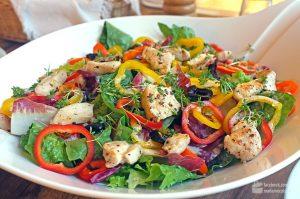 Bunte Salatschüssel | Madame Cuisine