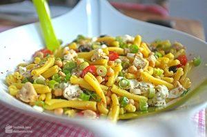 Lauwarmer Nudelsalat (leicht orientalisch) | Madame Cuisine