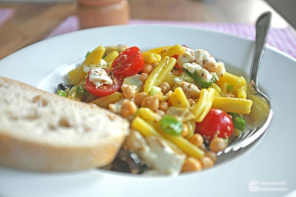 Lauwarmer Nudelsalat (leicht orientalisch) | Madame Cuisine Rezept