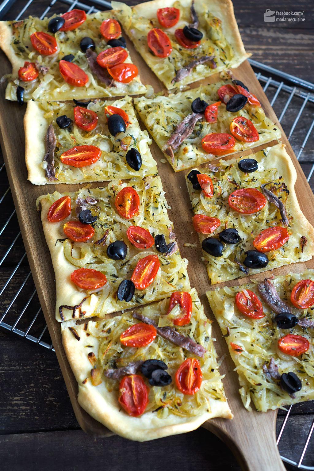 Pissaladière (Nizza-Pizza) | Madame Cuisine Rezept