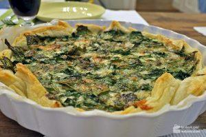 Tarte mit Spinat & Gorgonzola | Madame Cuisine