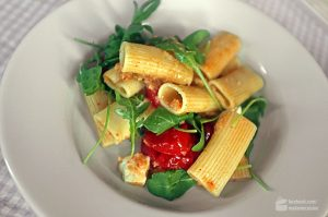 Tortiglioni mit gebackenen Tomaten | Madame Cuisine