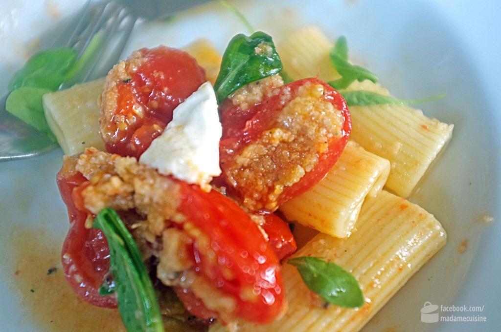 Tortiglioni mit gebackenen Tomaten | Madame Cuisine Rezept