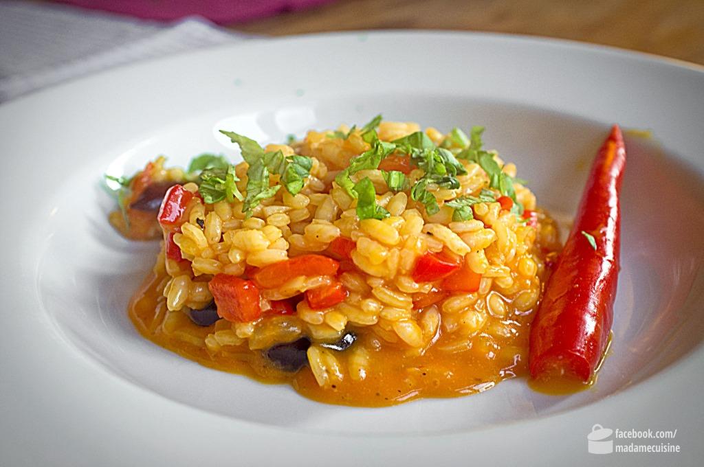 Karotten-Paprika-Risotto | Madame Cuisine Rezept