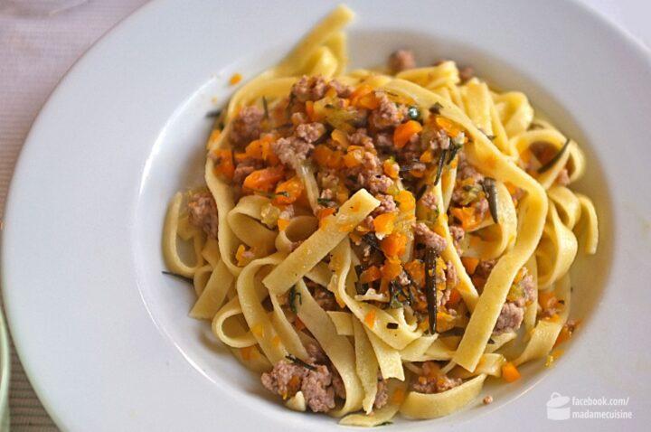 Weiße Bolognese | Madame Cuisine