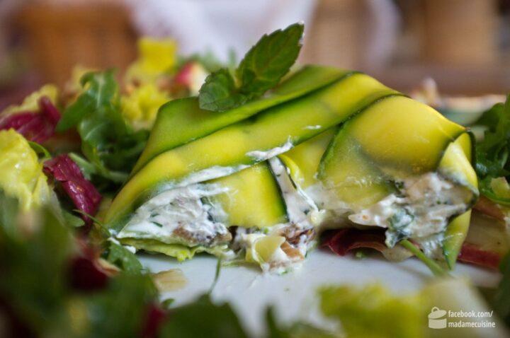 Zucchini-Frischkäse-Terrine | Madame Cuisine