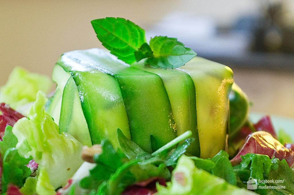 Zucchini-Frischkäse-Terrine | Madame Cuisine Rezept