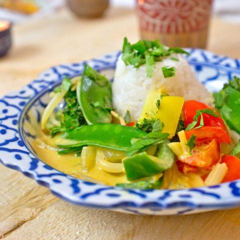 Gelbes Thai-Curry (vegetarisch) | Madame Cuisine