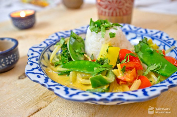 Gelbes Thai-Curry (vegetarisch) | Madame Cuisine