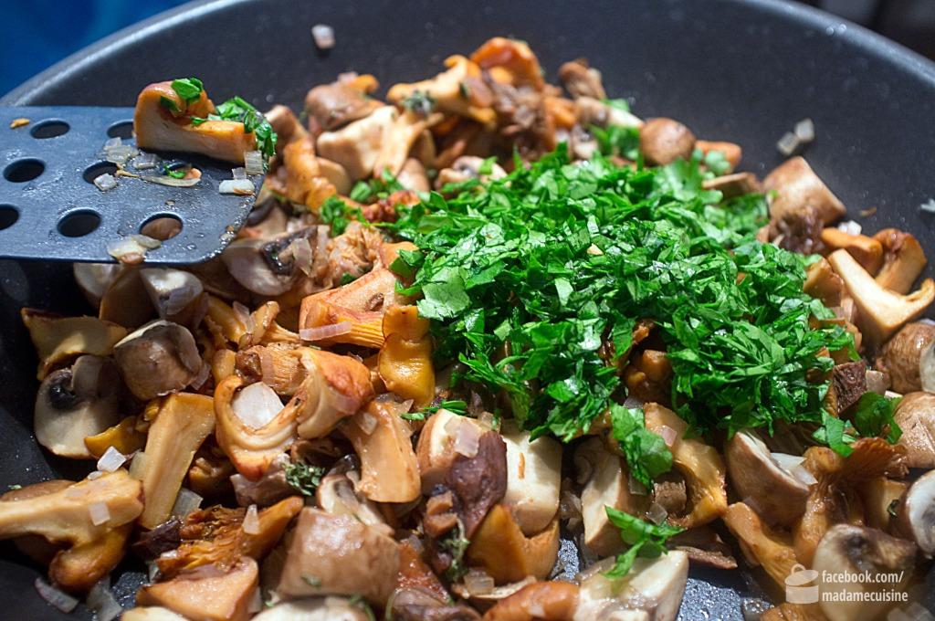 Kartoffelgratin mit Pilzen | Madame Cuisine Rezept
