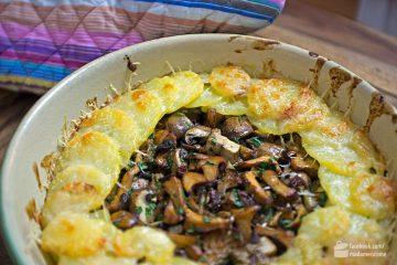 Kartoffelgratin mit Pilzen | Madame Cuisine