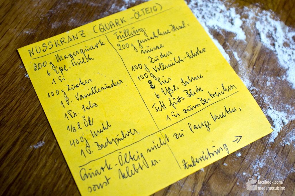 Nusskranz nach Oma Käthe | Madame Cuisine Rezept