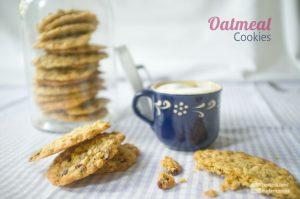Oatmeal Cookies (Haferflocken-Kekse) | Madame Cuisine