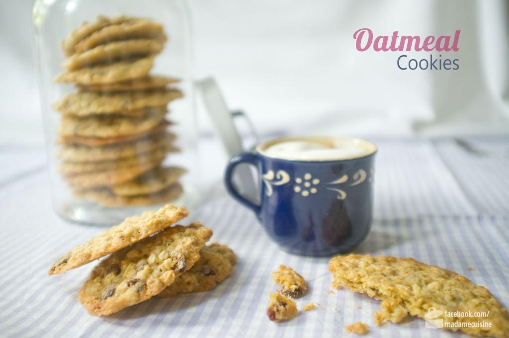 Oatmeal Cookies (Haferflocken-Kekse) | Madame Cuisine Rezept