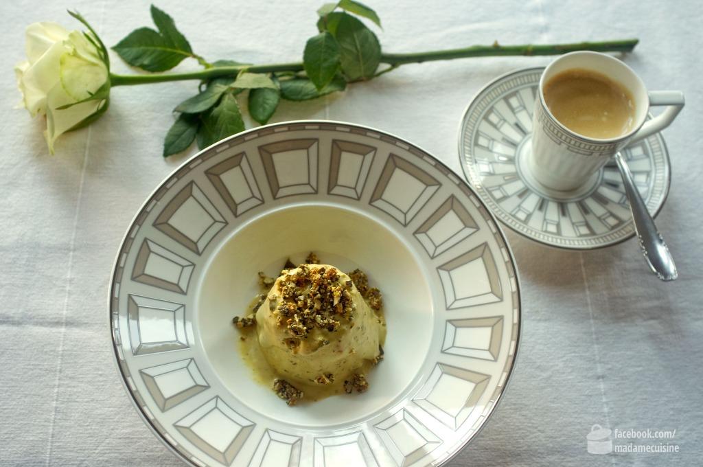 Kürbiskern-Parfait | Madame Cuisine Rezept