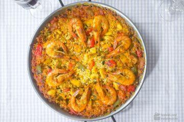 Paella mit Meeresfrüchten (Paella de Mariscos) | Madame Cuisine