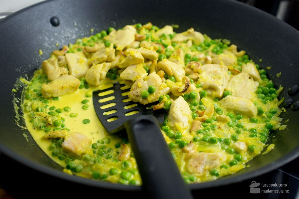Erbsen-Curry (mit Huhn) | Madame Cuisine Rezept